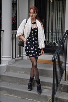 Le Silla boots - asos dress - Forever 21 coat