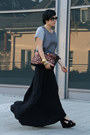 Silver-asos-shirt-dark-brown-vj-style-bag-black-nellycom-skirt-black-ring