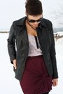 Black-leather-urbancode-jacket-light-pink-lola-vs-harper-shirt