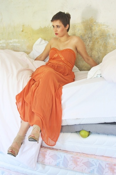 orange AX Paris dress