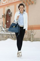 peplum AX Paris jacket - 3 suisses shirt - sammydress bag