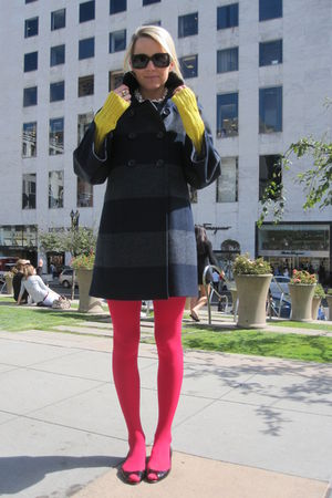 RL Collection sweater - Christian Louboutin shoes - Jcrew dress - aa tights