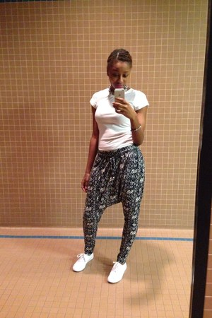 charcoal gray Forever 21 pants
