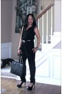 Leather-tote-mk-bag-black-unknown-jumper-open-toes-black-steve-madden-pumps