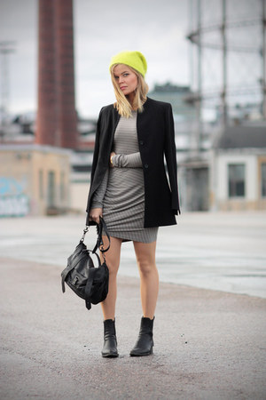 Alexander Wang boots - t by alexander wang dress - PROENZA SCHOULER bag