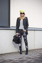 weekday jeans - H&M boots - COS t-shirt