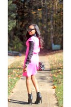 Nine West boots - Ladyee Boutique dress - Celine sunglasses