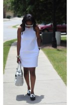 Zara dress - Prada sunglasses