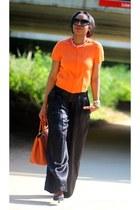 Prada bag - Celine sunglasses - coach pumps
