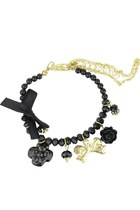 Charms of Your Love Bracelet (Black)