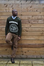 Olive-green-thrift-store-sweater-river-island-shirt