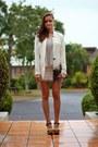 White-twill-coat-coat-white-sequin-skirt-skirt