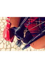 Shirt-red-tartan-zalora-shirt-lace-up-boots-aldo-boots-k-first-blazer