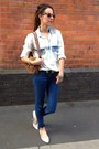 Denim-shirt-zara-shirt-urban-outfitters-sunglasses-carvela-flats