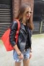 Black-biker-jacket-oasis-jacket-red-red-bag-oasis-bag