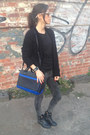 Black-warehouse-bag-black-warehouse-cardigan