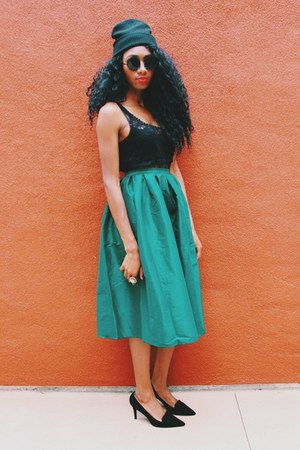 Aliexpress skirt - Zara shoes - Marshalls shirt