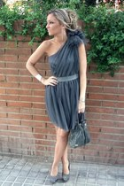 asos dress - jorge juan bag - GoJane heels