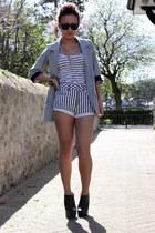 Primark blazer - Topshop shorts