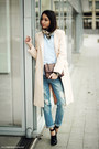 Shoes-neutral-coat-jeans-shirt-bag-watch