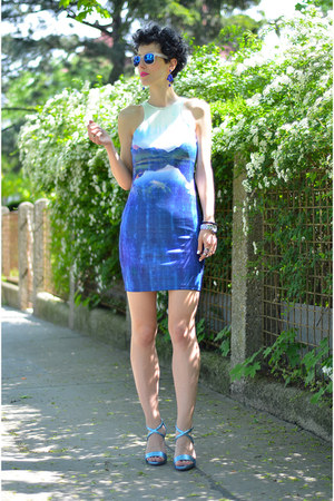 H&amp;M shoes - H&amp;M dress - zeroUV sunglasses