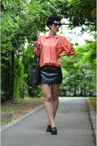 H&M skirt - H&M shoes - wwwvj-stylecom bag - wwwoasapcom sunglasses
