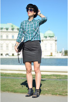 Zara shirt - wwwchoiescom boots - Zara bag - wwwoasapcom sunglasses
