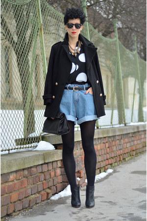 H&M Trend blouse - Maison Martin Margiela for H&M boots - Choies coat