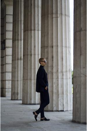 H&M Studio AW14 blazer - Zara shoes