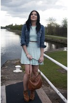 sky blue Primark dress