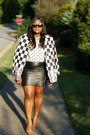 Off-white-thrifted-blazer-black-diy-sunblasses-ebay-sunglasses