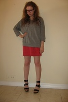 skirt - Gap sweater - Aldo