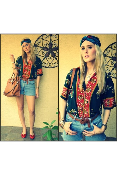 silk scarf shirt. silk scarf DIY vintage turban