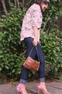 Navy-renner-jeans-light-pink-pink-co-shirt