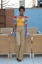 Forever 21 shirt - Urban Outfitters cardigan - H&M pants