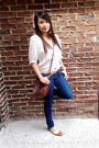 White-smart-set-blouse-sirens-jeans-h-m-purse-guess-accessories-brown-za