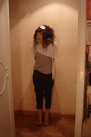 vintage t-shirt - H&M t-shirt - Zara pants - Bon Bon shoes