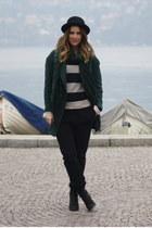 Zara coat - H&M scarf - H&M jumper - Zara pants
