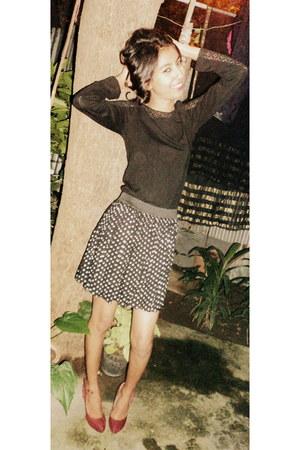 Globus dress - polka dotted girls rule skirt