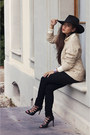 Black-sandals-zara-shoes-black-h-m-jeans-nude-beige-gant-rugger-sweater