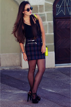 The Checked Skirt