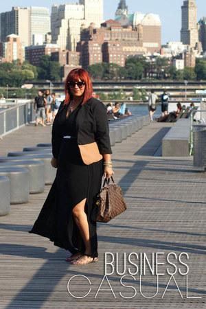 bronze two tone blazer Zara blazer - black Forever 21 dress