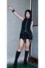 Black-roc-boots-black-diy-maldita-shorts-black-punk-rave-top
