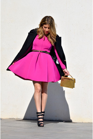 magenta Choies dress