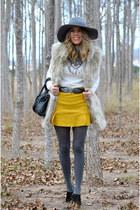 mustard Choies skirt