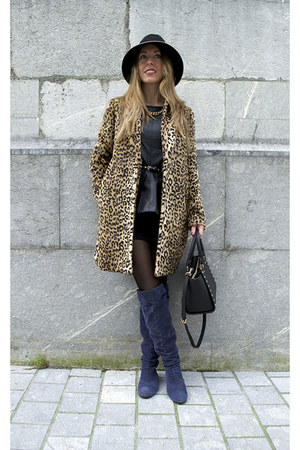 Mango coat - Michael Kors bag - choiescom top