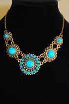 Turquoise-blue-blue-vanilla-necklace