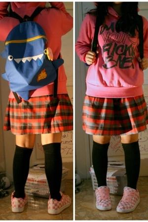 Dangerfield jacket - unbranded accessories - skirt - sox gallery socks - unbrand