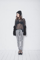 beetlejuice DIY pants