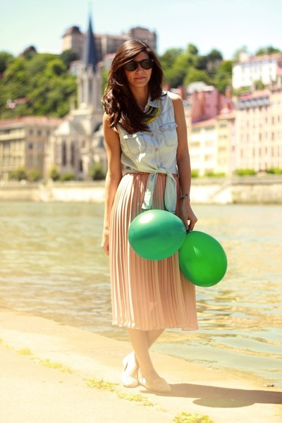 Olive Clothing skirt - Zara shoes - Primark top